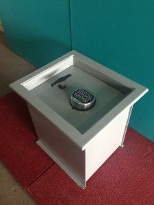 A standard In ground floor safes