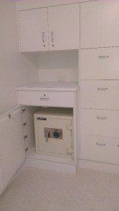 Safe in a cupboard