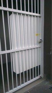 grill door locks
