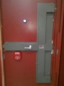 High security locks on high security doors