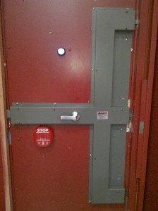 High security locks on high security doors