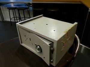 We can also repair safes provided it is economical to do so unlike this cheap hardware safe