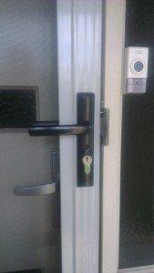 Domestic security door lock repairs