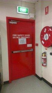 Fire Exit Door Locks Brisbane