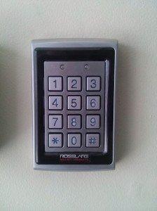 Weatherproof keypad