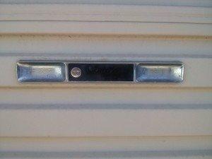 Garage door lock repairs