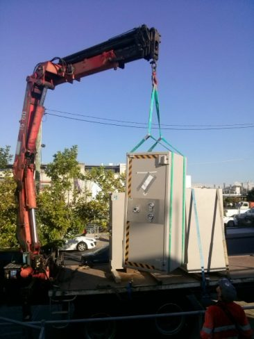 We can deliver your safe regardless of how heavy it is !