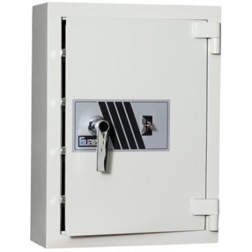 Guardall's new design drug safes have MULTI point locking boltwork rather than a single tongue lock !