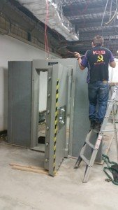"""This """"modular Vault' weighs 15,000 kg and we both install and remove them all over Queensland !"""