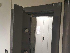 A high grade Bankers Vault door