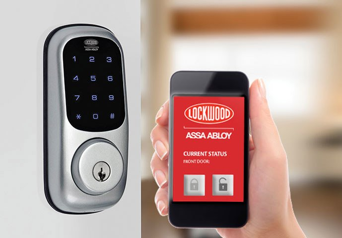 Lockwood Wireless Digital Deadbolt Kgb Brisbane