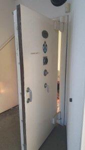 Chubb Armoury door