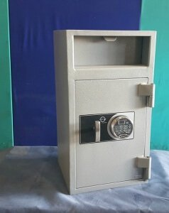 Flap deposit safes are really simple to operate !