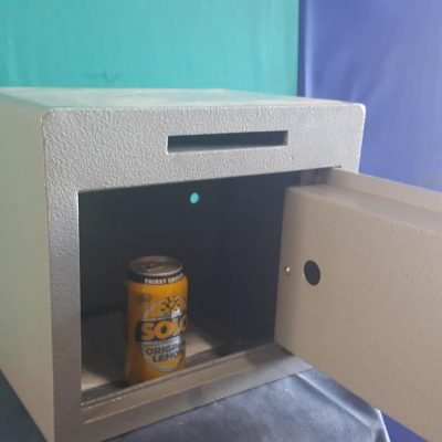 Small postal slot deposit safe
