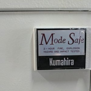 Used safe for guns large double door Kumahira