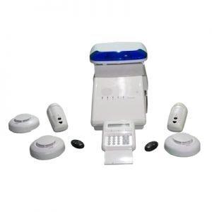 Starter Kit + Smoke Detector Package Risco Agility 3 Digital Camera System