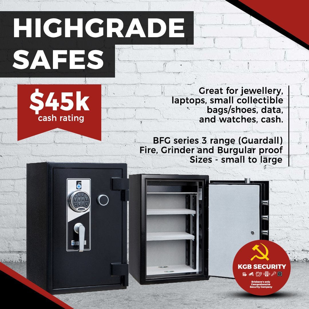 KGB High Grade Home Safes Brisbane