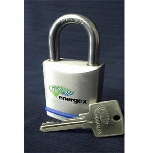 Energex Padlock With 1 Key