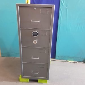 Used Chubb 4 Drawer security safe