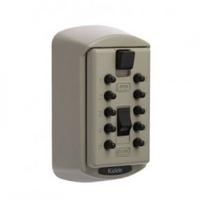 KIDDE KEYSAFE S6 CLAY 2KEY CAPACITY BX